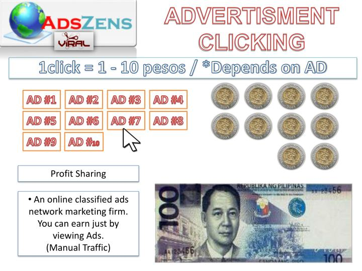 ADVERTISMENT CLICKING