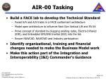 air 00 tasking