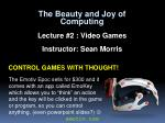 control games with thought