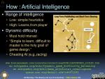 how artificial intelligence
