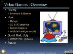 video games overview