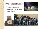 professional rodeo