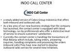 indo call center