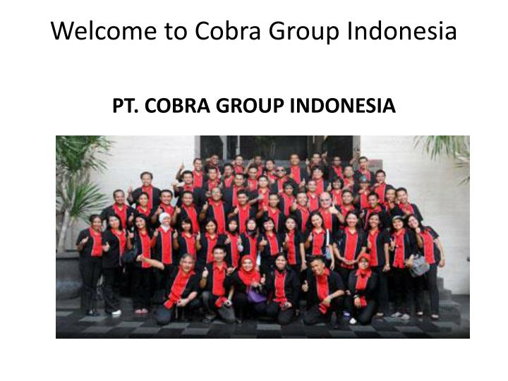 welcome to cobra group indonesia n.