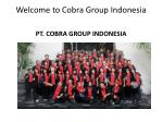 welcome to cobra group indonesia