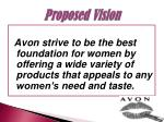 proposed vision
