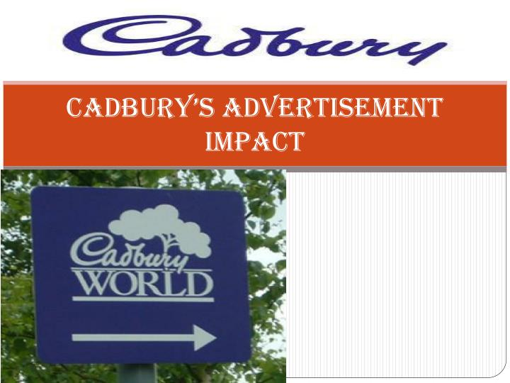 cadbury s advertisement impact n.
