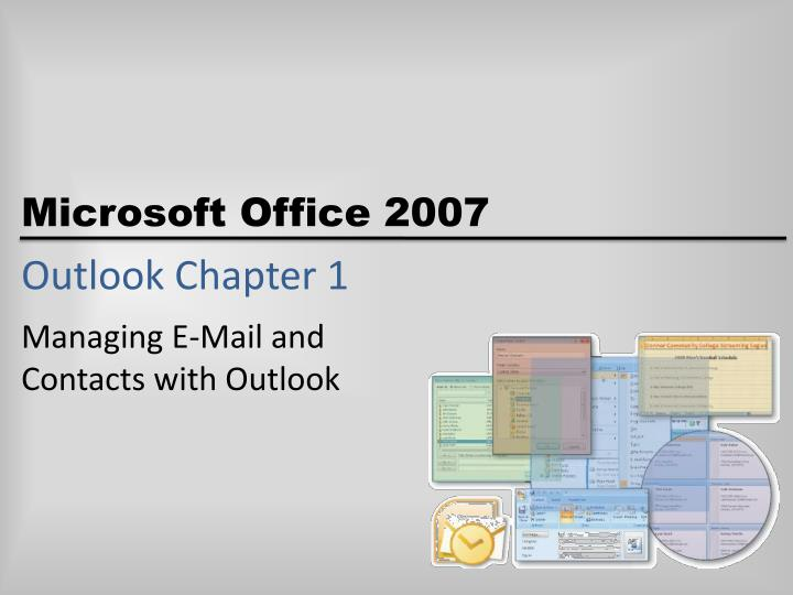 outlook chapter 1 n.