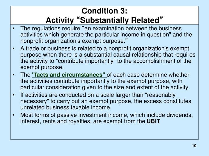 Condition 3: