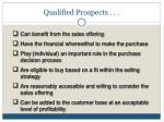 qualified prospects