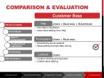 comparison evaluation