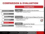 comparison evaluation4