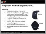 amplifier audio frequency vpu1