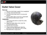 outlet valve cover