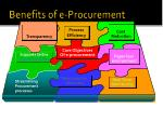 benefits of e procurement