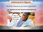 human resources m anagement