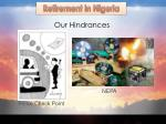 our hindrances