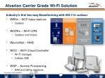 alvarion carrier grade wi fi solution