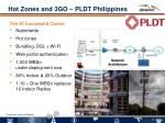 hot zones and 3go pldt philippines