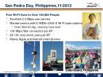 san pedro day philippines 11 2012