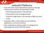 mhealth platforms