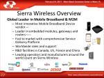 sierra wireless overview