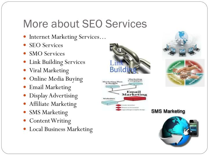 More about SEO Services