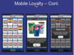 mobile loyalty cont