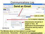 communications log2