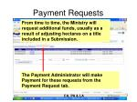 payment requests