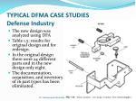 typical dfma case studies defense industry2