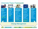 channels track framework