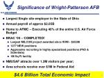 significance of wright patterson afb