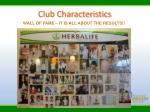 club characteristics5