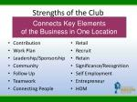strengths of the club9