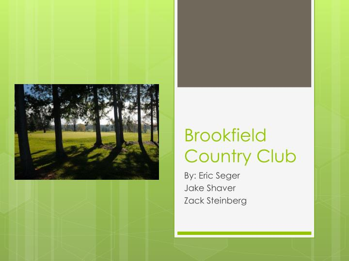 brookfield country club n.
