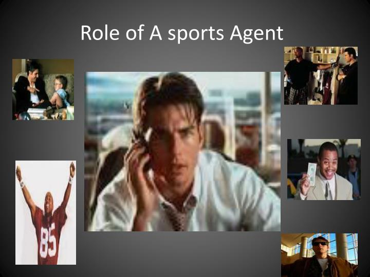 role of a sports agent n.