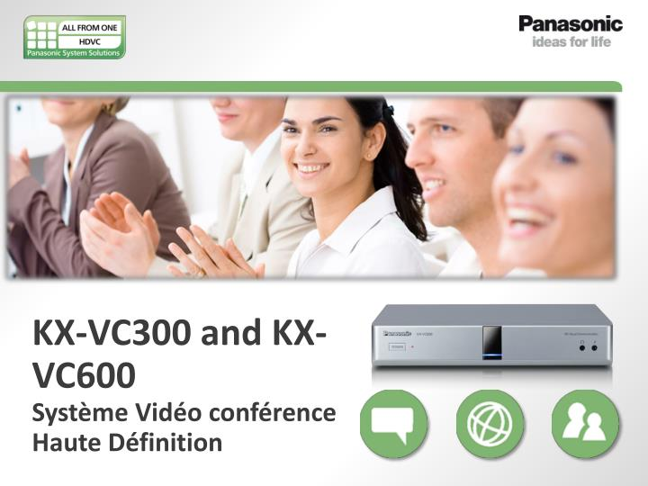 kx vc300 and kx vc600 syst me vid o conf rence haute d finition n.