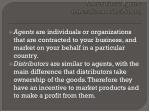international agents international distributors