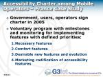accessibility charter among mobile operators france case study