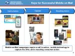 keys for successful mobile on mail