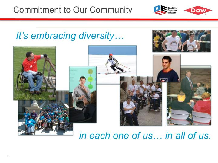 Commitment to Our Community
