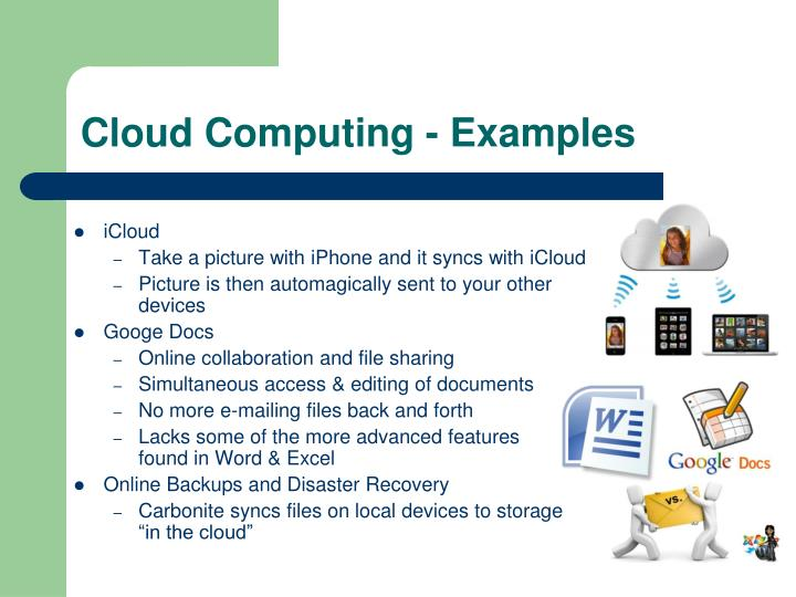 Cloud Computing - Examples