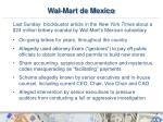 wal mart de mexico