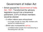 government of indian act