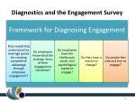 diagnostics and the engagement survey