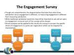 the engagement survey