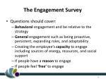 the engagement survey1
