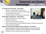 classroom and student technology 355 1 million