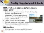 quality neighborhood schools1